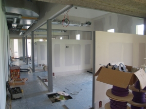Study rooms in the north west corner of level 2
