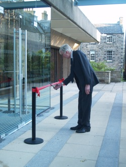 Main Library reopened by Professor Peter Clark